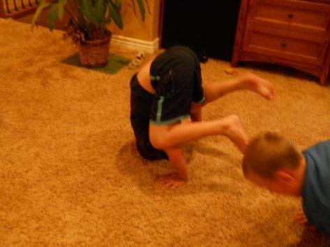 laraes kids having fun